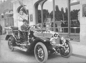 първата кола в бг